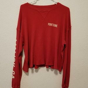 Brandy Melville Point Dume Thermal Long Sleeve (Re